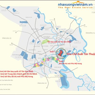 Khu chế xuất Tân Thuận - HCM